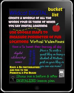 Digital bucketlist