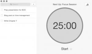 Focus app - Pomodoro